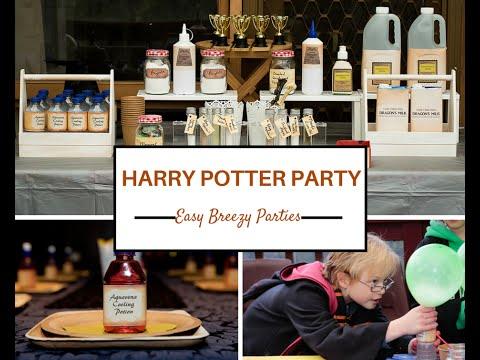 Harry Potter Party - Easy Breezy Parties - Melbourne, Australia