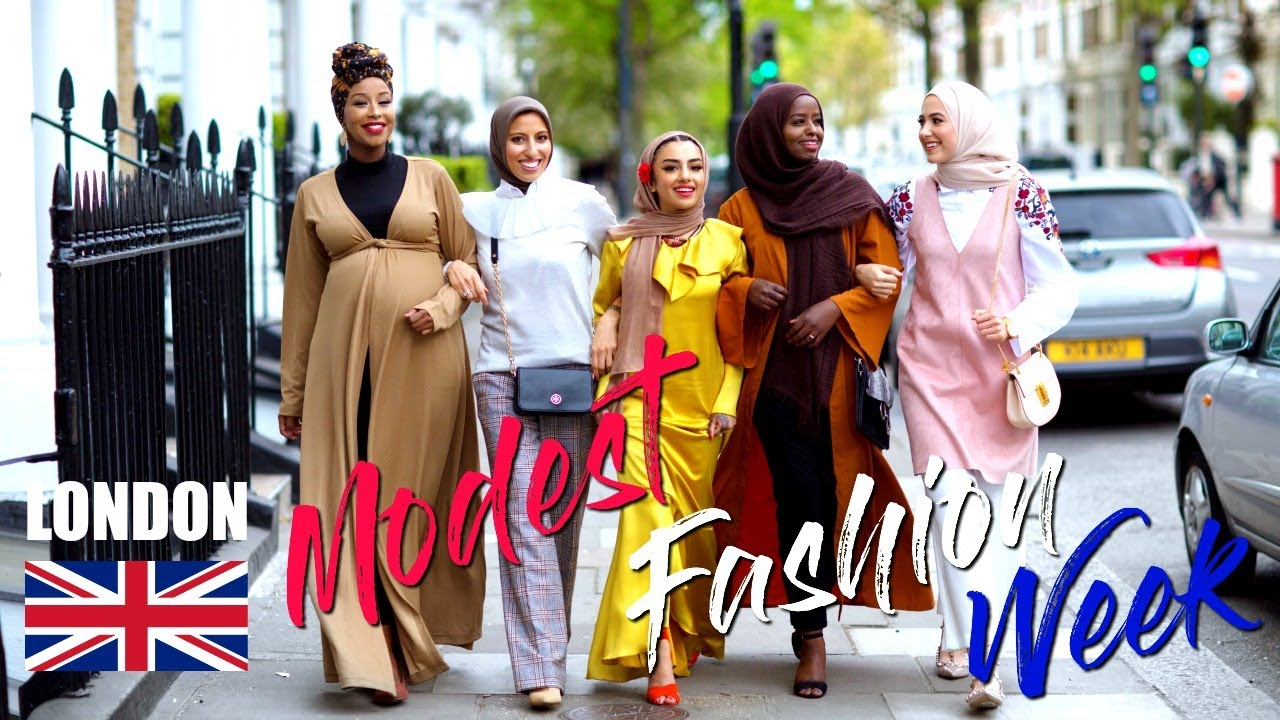 London Modest Fashion Week Modest Fashion Bloggers Unite Youtube