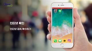 [스카이패스로밍] 아이폰 유심 교체방법 LTE 수동설정…