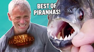 The Best of PIRANHAS! (Part 1) | COMPILATION | River Monsters