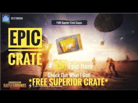 Pubg Superior Crate Coupon Use