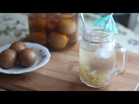 Chanh Muoi (Vietnamese Preserved Limes/Lemons with Salt) Pickled Limes/Lemons