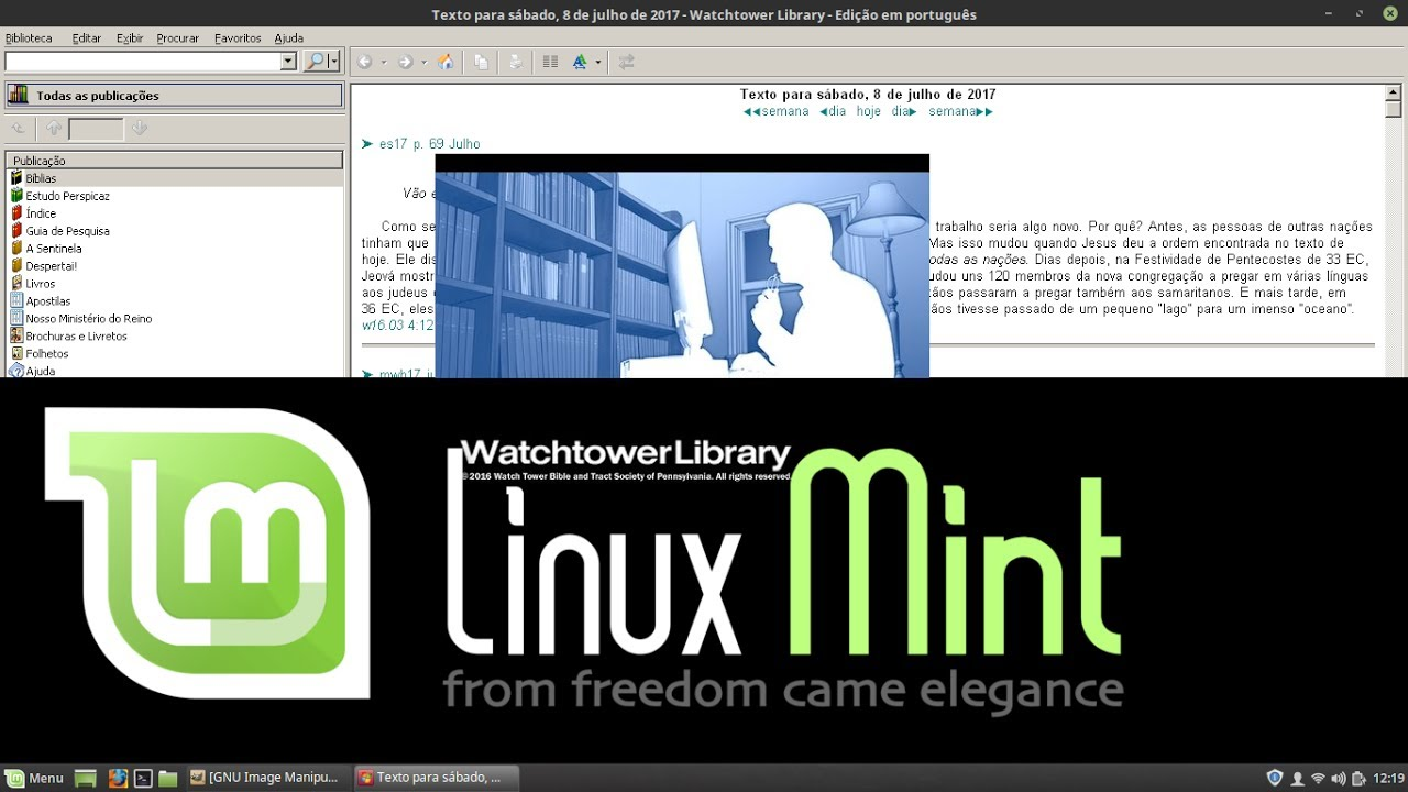 551525f58eb Watchtower Library 2016 in Linux [PlayonLinux - LinuxMint] by Renan ...