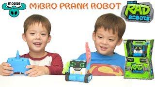 *NEW*SPY, PRANK n' DANCE RC MiBro the Really Rad Robot By Moose Toys