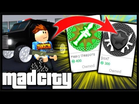 Buying The SWAT & HEAVY WEAPONS Robux Packs! (RPG, AWP ...