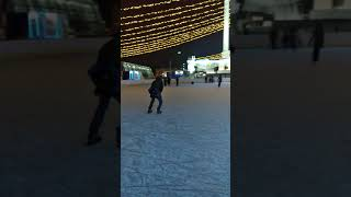Astana's Open Ice Skating Rink