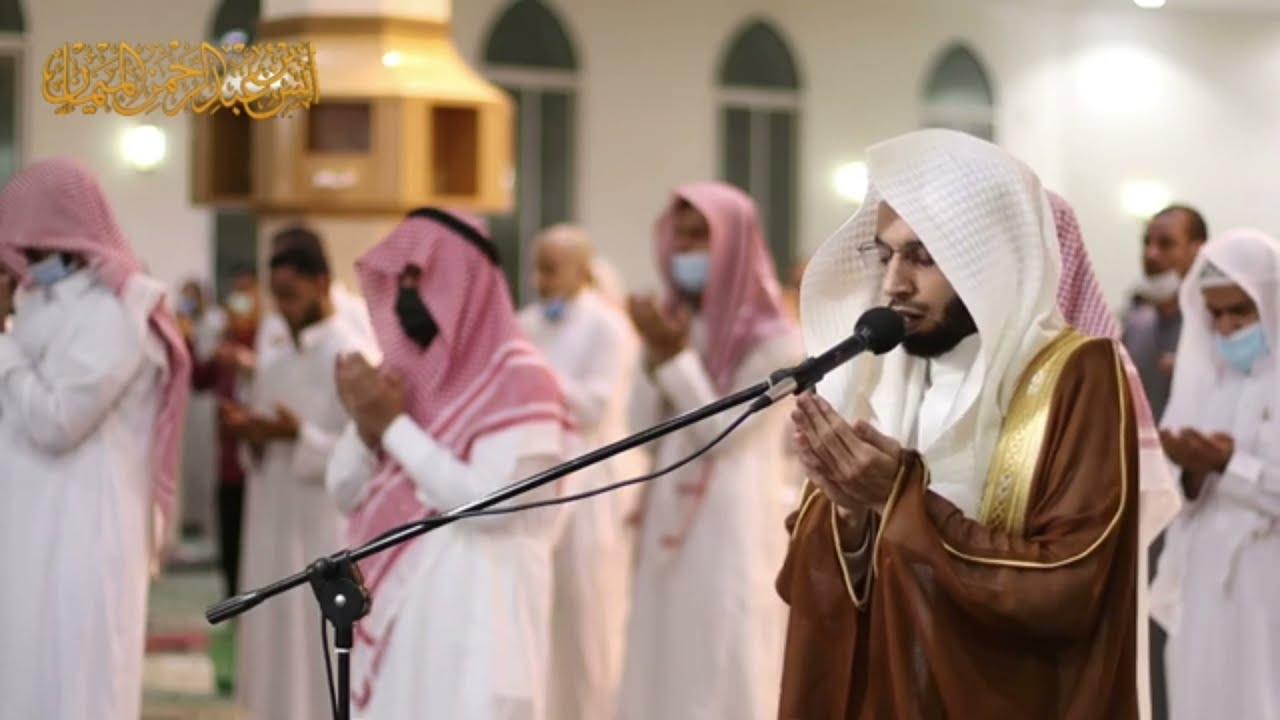 يامن هو أكبر مما نخاف ونحذر ~ هكذا دعا الشيخ أنس الميمان بدعاء مؤثر انسكبت منه دموع المصلين