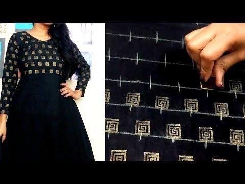 diy-:-golden-printing-on-fabric-|-convert-plain-top-into-designer-wear-|-block-printing-at-home