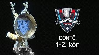 1-2. kör   TheVR PUBG Duo Cup - Döntő - 12.28.