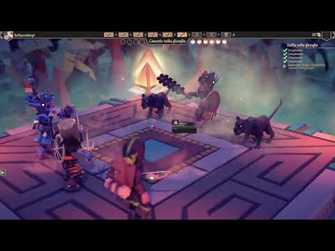 FOR THE KING: lost civilization, final boss COOP MODE  