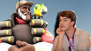 Travi Schools Matpat About TF2 Vs Overwatch