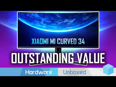 Xiaomi Mi Curved 34 Review, The Cheapest 144Hz 1440p Ultrawide!