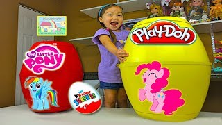 My Little Pony Biggest Surprise Eggs with Cutie Mark Magic! My Little Pony Toys