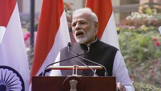 PM Narendra Modi 's address at Joint Press Meet