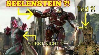 SEELENSTEIN BEI IRON MAN ?! - Infinity War Theorien