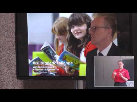 Cultural Education Challenge - Launch Event, The Barbican 14 October 2015