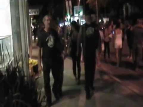 BUSH Mon Scares Big Burly Bikers! Attorney That Rides Key West 2012 Poker Run