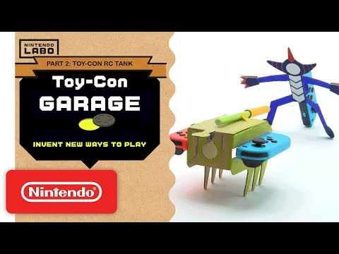 Nintendo Labo - Invent New Ways To Play With Toy-Con Garage - Part 2