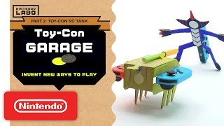 Download Nintendo Labo - Invent New Ways To Play With Toy-Con Garage - Part 2 Mp3 and Videos
