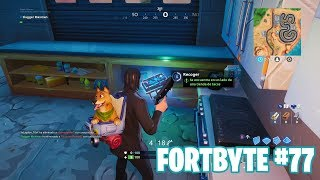 Fortnite Battle Royale ? Fortbyte Challenges How to get the Fortbyte #77