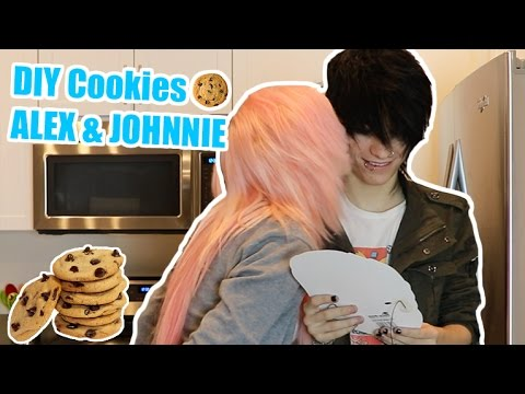 DIY Cookies Alex Dorame & Johnnie Guilbert
