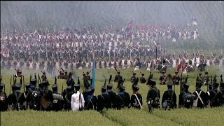 Reconstitution du bicentenaire de Waterloo: Napoléon vient de lancer l'offensive