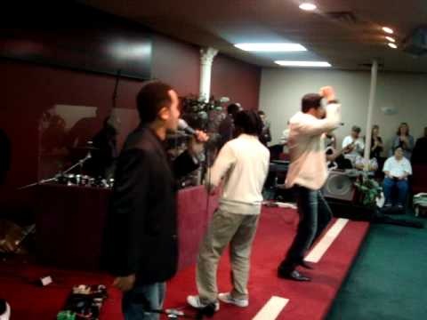 Toque no Altar-Assembleia de Deus Missionaria El-Shaddai-Dallas, TX