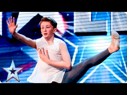 Jack Higgins has a real Billy Elliot moment | Week 2 Auditions | Britain's Got Talent 2016