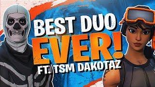 BEST DUO EVER! 28 KILLS WITH DAKOTAZ (Fortnite BR Full Match)