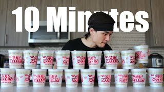 Download 10min Cup Noodle Challenge Mp3 and Videos
