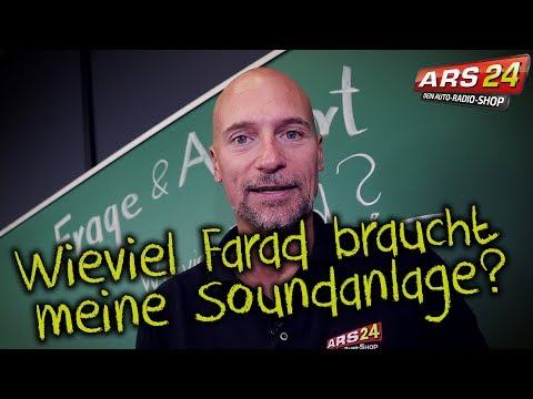 Wieviel Farad braucht meine Soundanlage?   ARS24