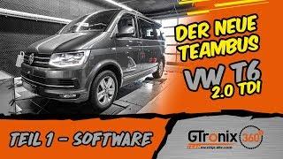 Der neue Teambus für den Ring | VW T6 2.0 TDI | GTronix360° Team mcchip-dkr