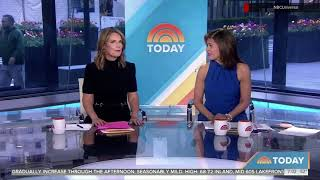 NBC News 'Today' anchors return to normal seating