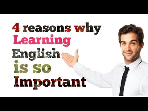 4 reasons why learning English is so important