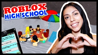 SETTING HER UP ON A DATE! - ROBLOX HIGH SCHOOL
