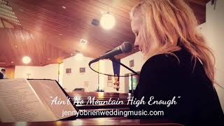 Ain't no Mountain YouTube Thumbnail