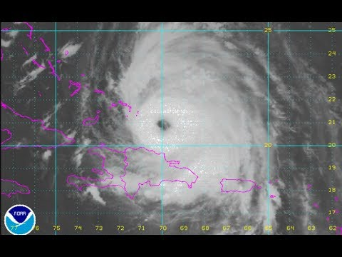HURRICANE MARIA NEARING TURKS & CAICOS 120 MPH WINDS LONG RANGE WEATHER OUTLOOK