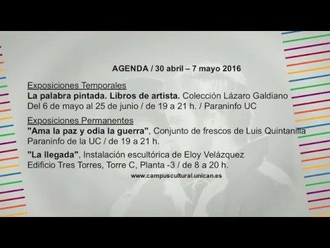 Campus Cultural UC (Del 30 de abril al 7 de mayo)