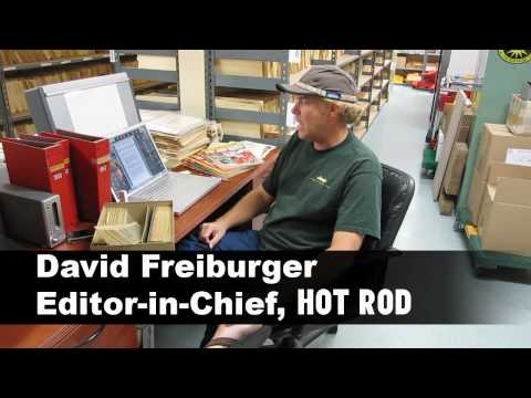 David Freiburger Working On HOT ROD Deluxe