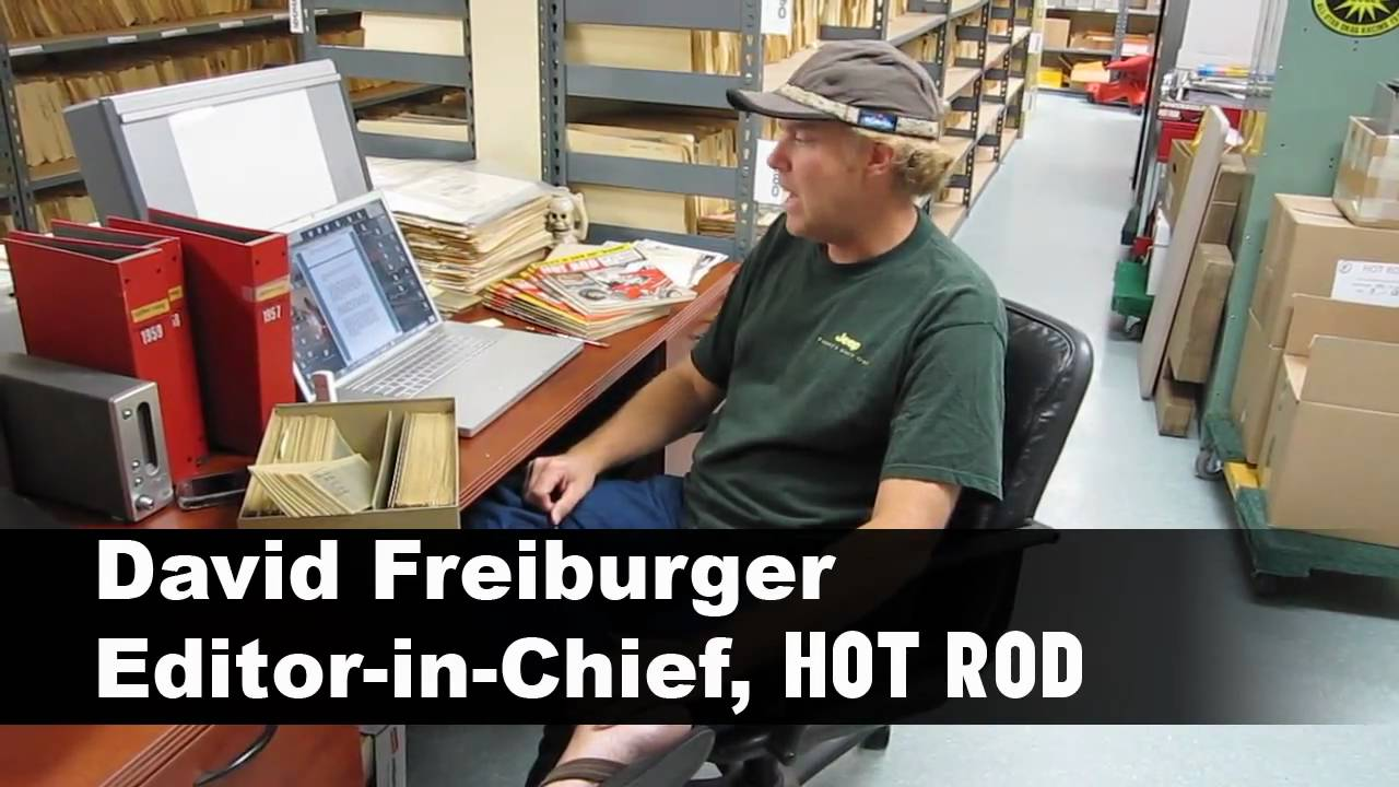 David Freiburger Working On HOT ROD Deluxe - YouTube