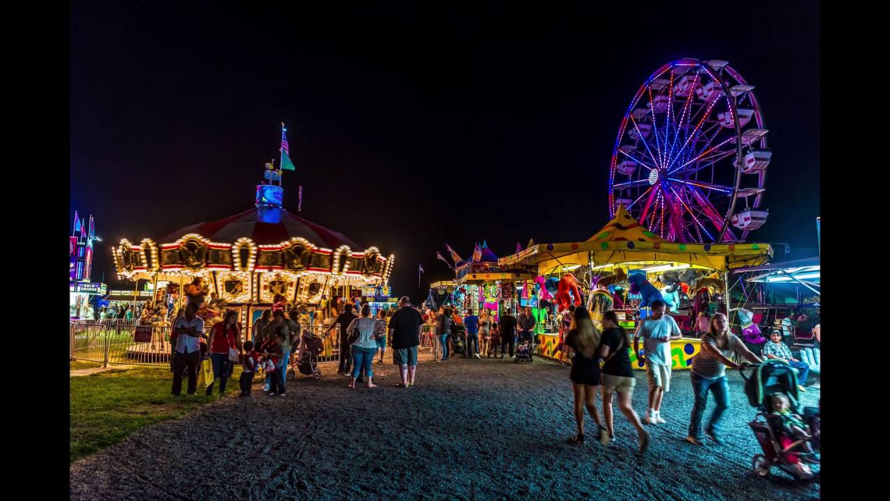 Grant County Fair 2016 Time Lapse - Moses Lake - YouTube