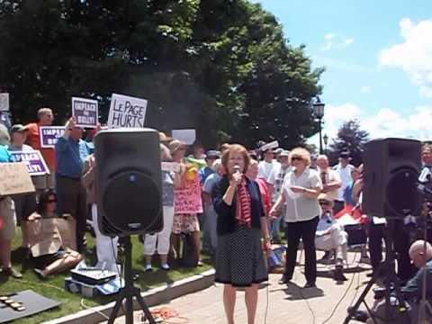 Pt 2- Citizen Rally Calling for Investigation, Impeachment of Maine Governor Paul LePage
