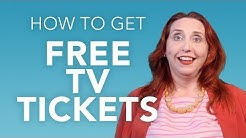 How to Get Tickets to a TV Show Taping