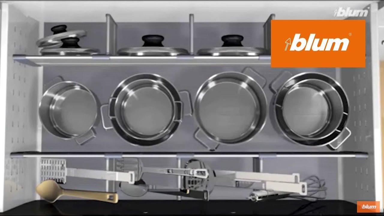 ORGA-LINE dividers for pots & pans