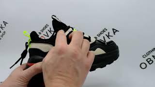 Женские подростковые кроссовки Baas 1603 черные