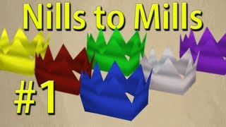 RS07 - Nills to Mills - Ep 1 - Road to 500m - Foundation Building - Runescape 2007