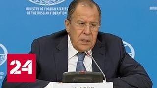 Лавров: нет оснований даже размышлять о переписывании Минских договоренностей