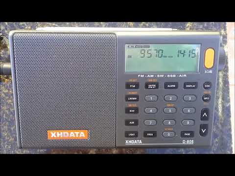 Radio Romania Int.  from Romania to Central Asia on 9570 KHz
