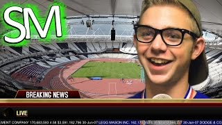 Rick Breaks 100m Dash World Record