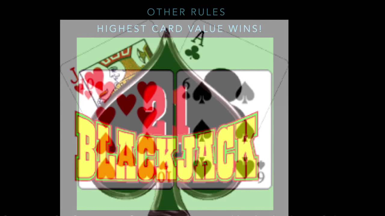 how to play black jacks